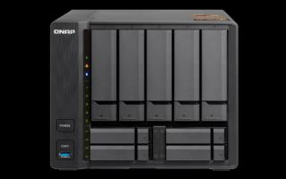 QNAP TS-963X-8G Turbo NAS server,  AMD G-Series GX-420MC 2,0 GHz/8GB/RAID 0,1,5,6,10/1x10GL//1xGL/5x 3.5