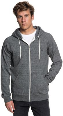 Quiksilver Mikina Everyday Zip Dark Grey Heather EQYFT03849-KRPH S