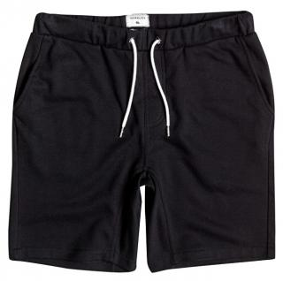Quiksilver Pánské šortky Everyday Fonic Fleece Short Black EQYFB03064-KVJ0 XL