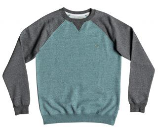 Quiksilver Pánský svetr Everyday Crew Stormy Sea Heather EQYFT03847-BLHH L