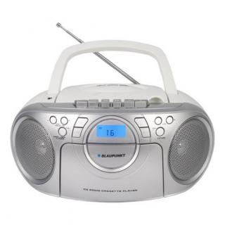 Radiomagnetofon s CD Blaupunkt BB16WH FM PLL CD/MP3/USB/AUX, bílý