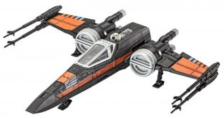 Revell Build & Play SW 06750 - Poes X-wing Fighter