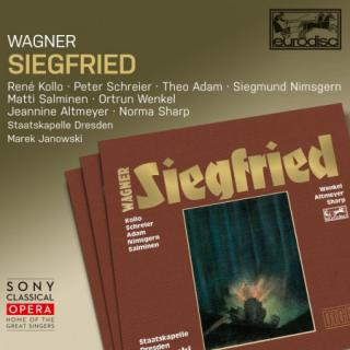 Richard Wagner : Siegfried CD