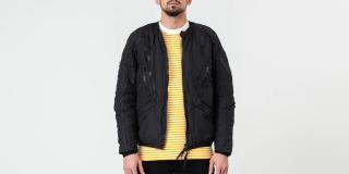 Riot Division Urban Insulated Bomber Black