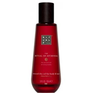 Rituals Suchý olej na tělo a vlasy Ayurveda (Natural Dry Oil For Body & Hair) 100 ml