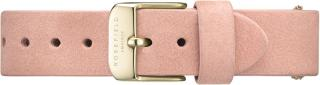 Rosefield West Village Pink Gold Strap