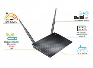 Router Asus RT-N12K, 90-IG10002MB1-3PA0-