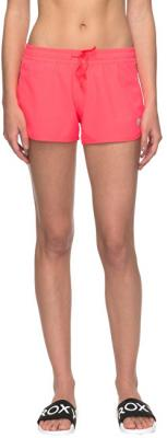 Roxy Dámské šortky All In Time Short Smocking Red ERJNS03150-MLJ0 S