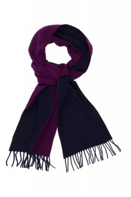 Šála GANT O1. TWO FACED LAMBSWOOL SCARF