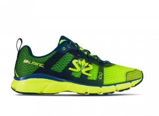 Salming enRoute 2 Men Safety Yellow/Poseidon Blue 9 UK - 44 EUR / Modrá/žlutá
