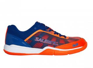 SALMING Falco Men Limoges Blue/Orange Flame, 43 1/3 9,5 UK / Blue/Orange