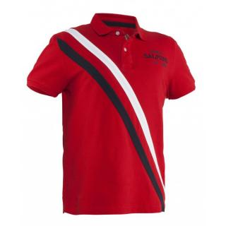 Salming Ivy Polo Men M / Red