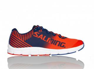 Salming Miles Lite Shoe Men 8,5 UK - 43 1/3 EUR / Orange/blue