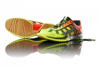 Salming Viper 4 Men Yellow/Orange 12,5