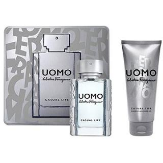 SALVATORE FERRAGAMO Uomo Casual Life EDT 50 ml   SGE 100 ml (8052086373037)