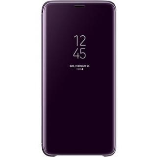 Samsung Galaxy S9  Clear View Standing Cover fialové