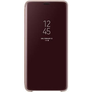 Samsung Galaxy S9  Clear View Standing Cover zlaté