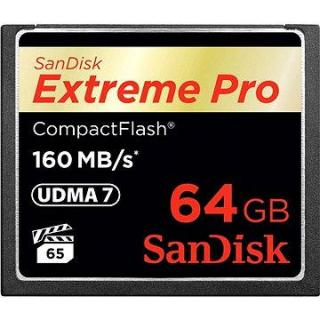 SanDisk Compact Flash 64GB 1000x Extreme Pro (SDCFXPS-064G-X46)