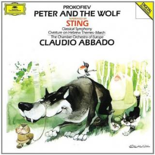 Sergej Prokofiev : Peter & The Wolf Symph. C CD
