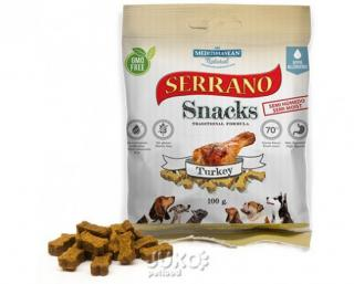 Serrano Snack for Dog-Turkey 100g-14200
