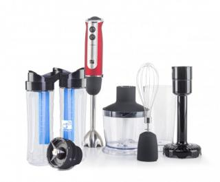 Set G21 mixér VitalStick 800 W, Red/Black   Smoothie maker