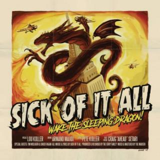 Sick Of It All - Wake the sleeping dragon LP CD