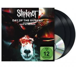 Slipknot : Day Of The Gusano - Live In Mexico LP DVD
