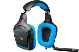 Sluchátka Logitech Gaming Headset G430 blue, 7.1 surround sound