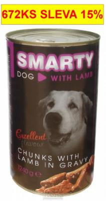 SMARTY chunks DOG 1240g LAMB-jehně-7748