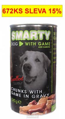SMARTY chunks DOG 1240g VENISON-zvěřina-7749