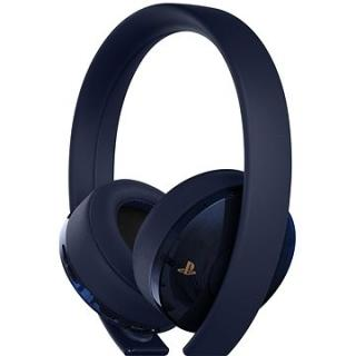Sony PS4 Gold/Navy Blue Wireless Headset - 500M Limited Edition (PS719404576)