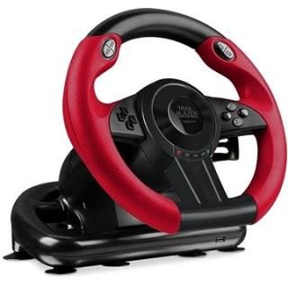 SPEED LINK TRAILBLAZER Racing Wheel for PS4/Xbox One/PS3 Black (SL-450500-BK)