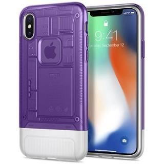 Spigen Classic C1 Grape iPhone X