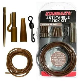 Starbaits Anti Tangle Stick Kit Hnědá