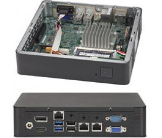 SUPERMICRO mini server 1x Atom E3940, 1x DDR3 ECC, 60W PSU, 1x 2,5