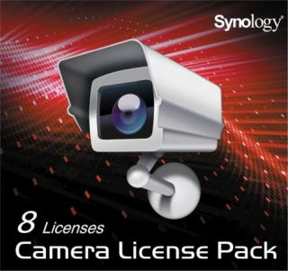 Synology Camera License Pack x 8, IPC8
