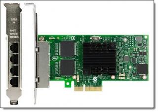 System x Intel I350-T4 4xGbe Base T Adapter for IBM System x, 00AG520