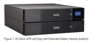 System x RT3kVA (3000VA) 2U Rack or Tower UPS (200-240VAC) - 2700W (with Network Management Card)