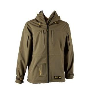 Tactic Carp Softshell Parka With Drill-Bag Olive Green (JVR068763NAD)