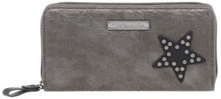 Tamaris Dámská peněženka Jem Big Zip Around Wallet 7130182-917 Pewter Comb