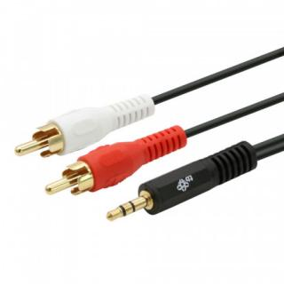 TB Touch Cable 3,5mm Mini Jack -2x RCA M/M 2,5m, AKTBXAJ2RCA250B