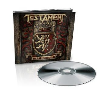 Testament : Live At Eindhoven CD