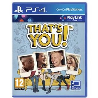 Thats You - PS4 (PS719886662)