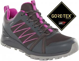 The North Face W Litewave Fastpack Ii Gtx Ebonygry/Purplcactusflowr 37,0