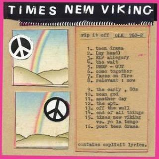 Times New Viking : Rip It Off  LP