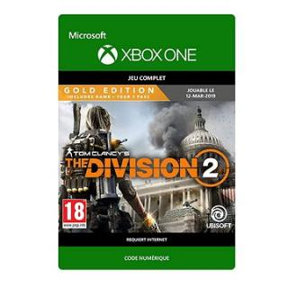 Tom Clancys The Division 2: Gold Edition - Xbox One Digital (G3Q-00602)