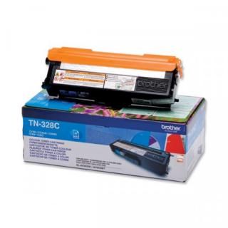 Toner Brother TN-328C, azurový , TN328C