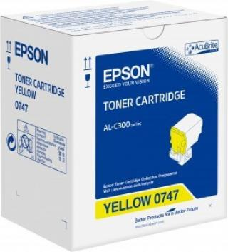 Toner Cartridge Yellow pro Epson WorkForce AL-C300, C13S050747