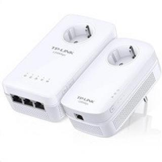 TP-Link Powerline extender TL-WPA8630PKIT Starter Kit AV1200, AC WiFi Gigabit Powerline Extender