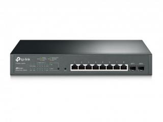 TP-Link T1500G-10MPS PoE switch, 8x GLAN   2x SFP, 802.3af/at, 116W budget, T1500G-10MPS